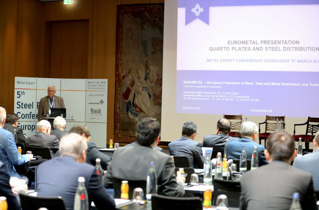 EU steel distributors report disappointing start to 2019 - EUROMETAL